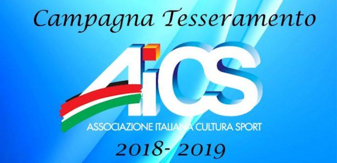 Tesseramento AICS 2018-2019