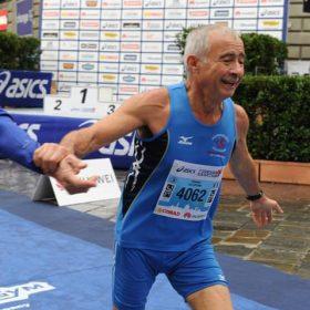 Erminio Colabuono alla Maratona di Firenze 2018