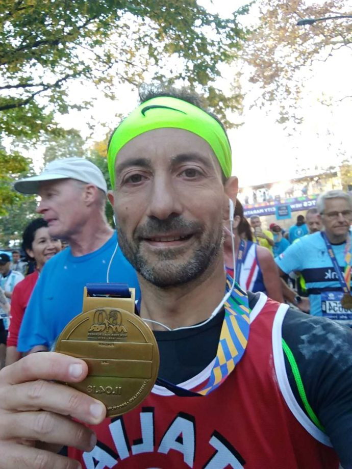 Probo Gresta alla Maratona di New York