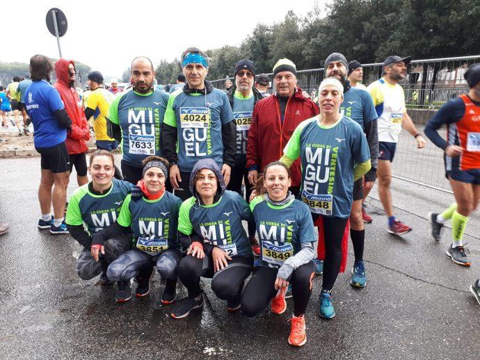 Atletica il Campanile alla Corsa di Miguel 2019