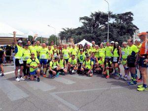 Il gruppo Cat Sport che ha partecipato alla 100km del Passatore 2019