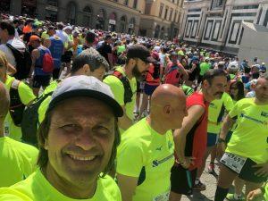 Massimo Bozzo alla 100km del Passatore 2019