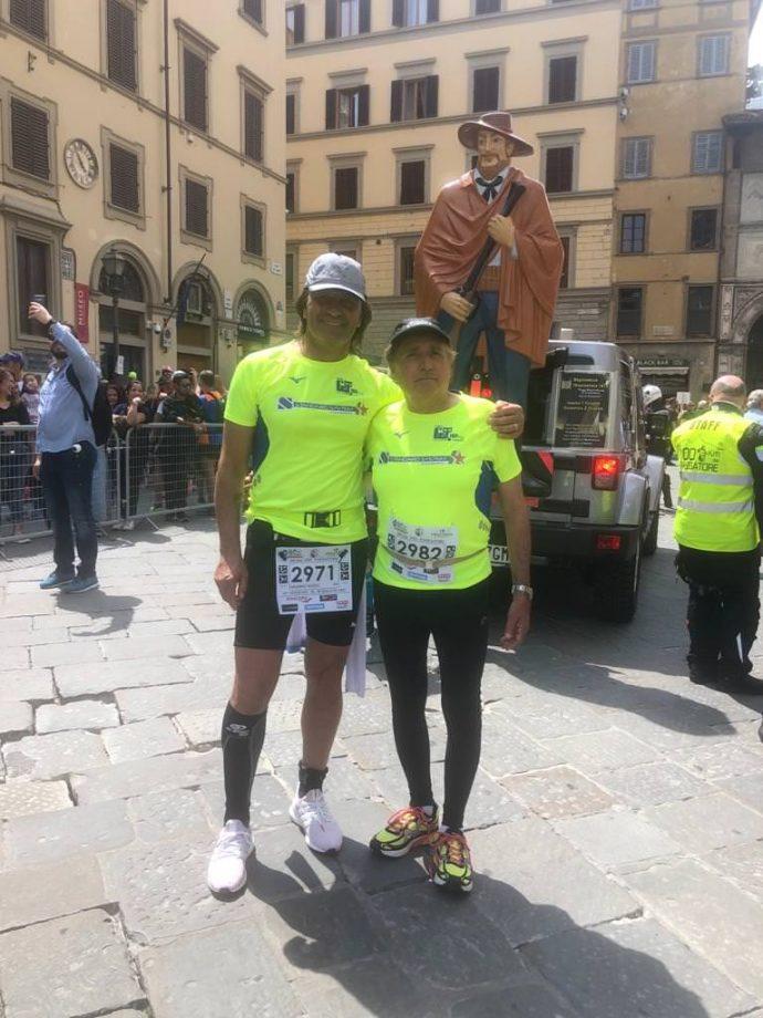 Massimo Bozzo e Aldo Monteleone alla 100km del Passatore 2019