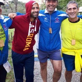 Gli atleti del Campanile al Trail dei Fontanili 2019